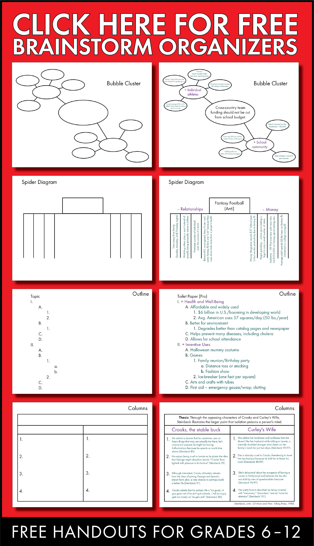 brainstormingorganizersfreeforpinterest?w\=315\&h\=786 blank cluster diagram blank eco maps samples \u2022 wiring diagram  at soozxer.org